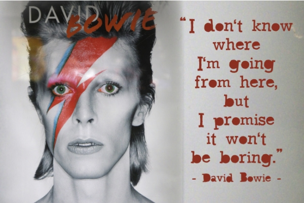 David Bowie's astrology birth chart