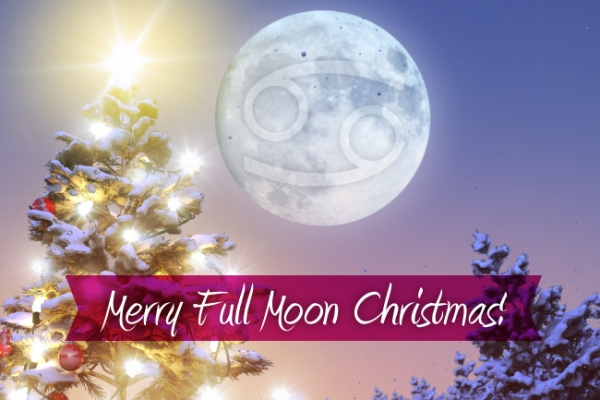 Full Moon in Cancer December 25th: Have a Very Merry Christmas!