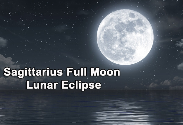 Full Moon Lunar Eclipse in Sagittarius 2020