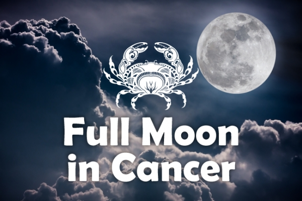 Full Moon Supermoon in Cancer 2018!