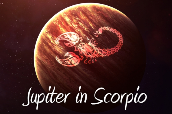 Jupiter in Scorpio October 2017-November 2018