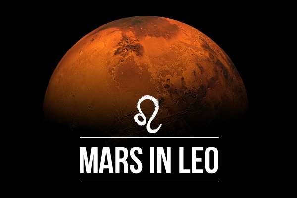 Mars in Leo Be Bold!