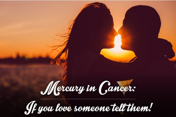 Mercury in Cancer: Emotional Talk