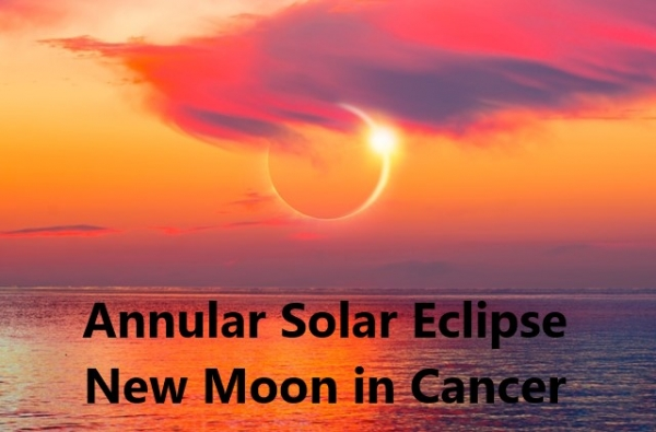 Solar Eclipse New Moon in Cancer 2020