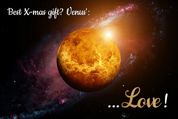 Venus Brings Love to your Christmas Day Horoscope!