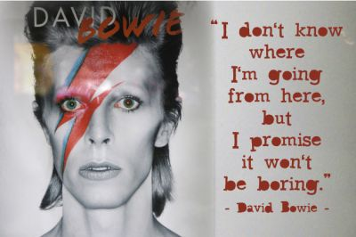 David Bowies astrology birth chart