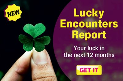 Lucky Encounters Report-Your luck in the next 12 months