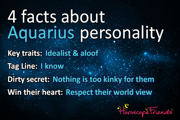 personality of aquarius horoscope