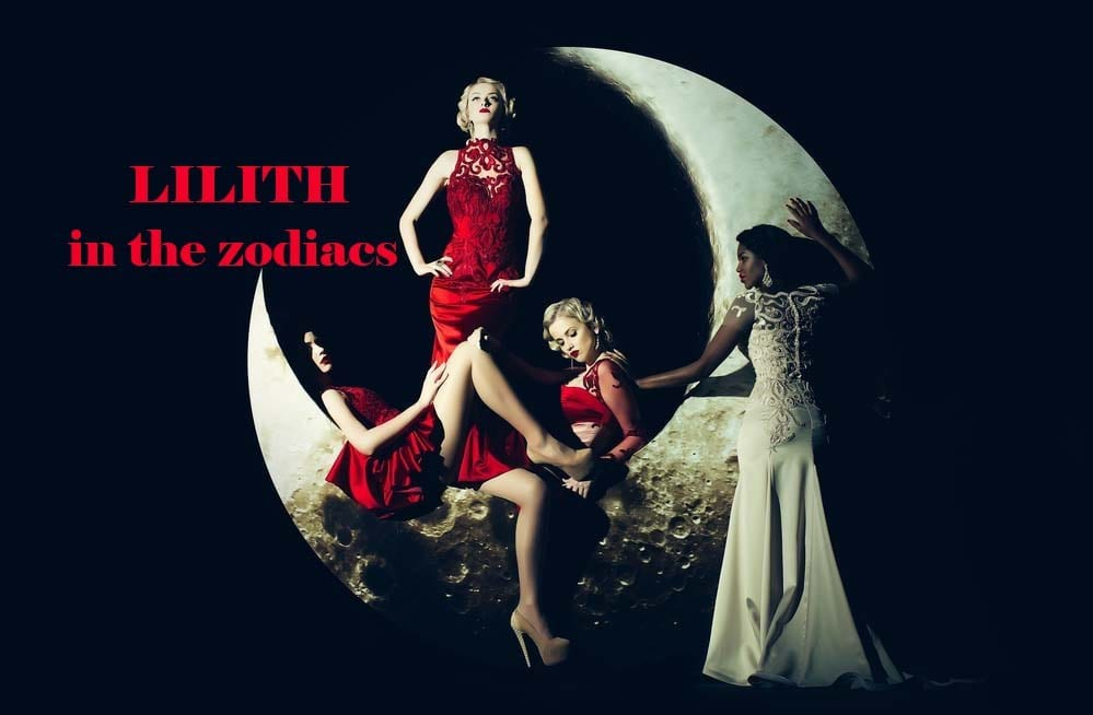 Lilith in the Zodiac Signs – The Black Moon in Astrology